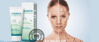 Creme PSORIFIX zur Behandlung in Deutschland