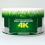 Биоудобрение 4К მოსავლიანობის და მცენარეთა კვების გაზრდა