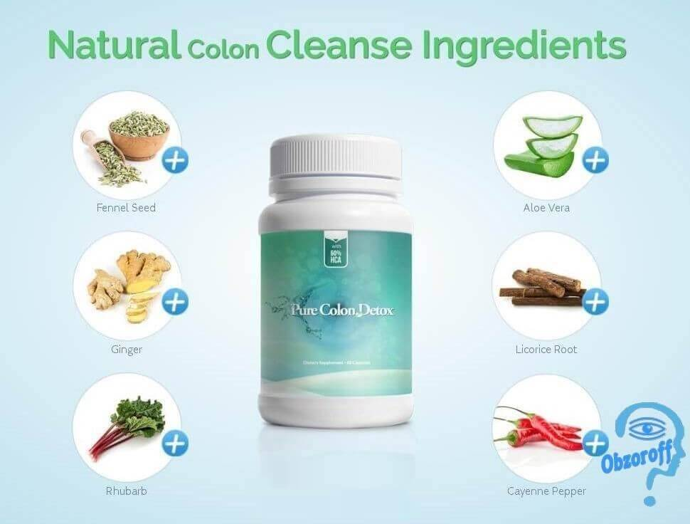 Pure Colon Detox for weight loss