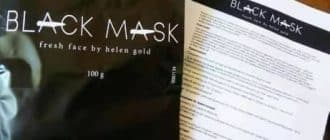 Črna maska Black Mask za akne, ogrce, akne in komedone