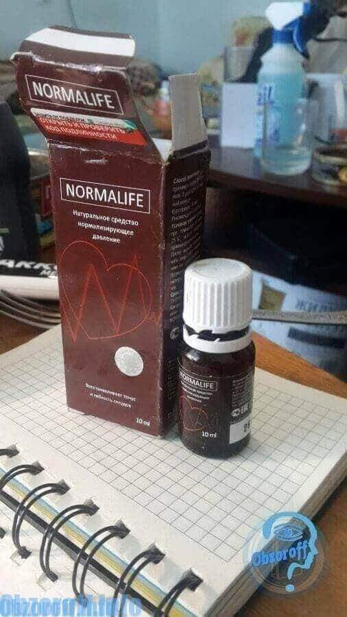 appearance of the original packaging Normalife