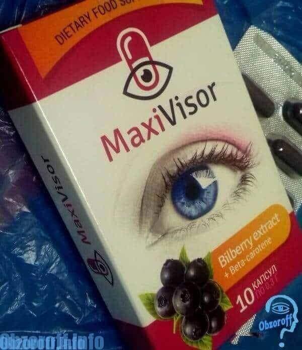 Maxivisor для восстановления зрения
