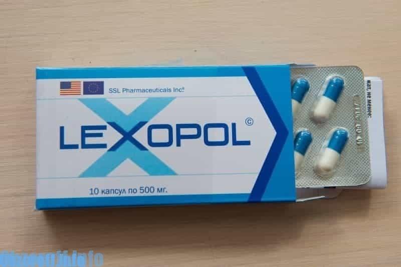 LEXOPOL Potentsiyani tiklash uchun (buzadigan amallar va kapsulalar)
