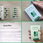 DiabeNot ад цукровага дыябету - інструкцыя, склад, водгукі
