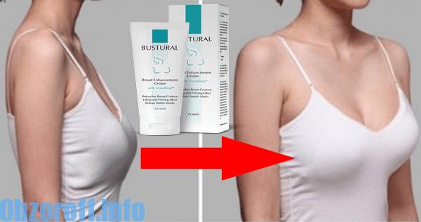 Bustural crema per aumentare le dimensioni del seno