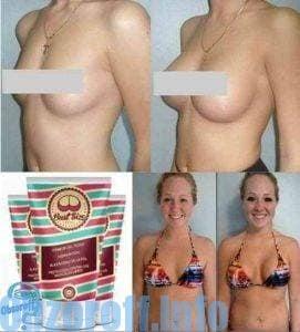 Крем Bust Size за уголемяване на гърдите без операция