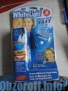 Система White Light для отбеливания зубов с УФ-лампой и другие методы
