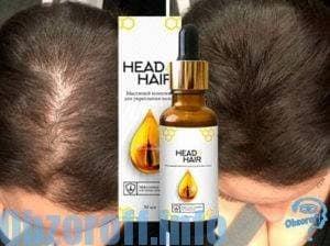 Масляный комплекс Head&Hair для укрепления и роста волос