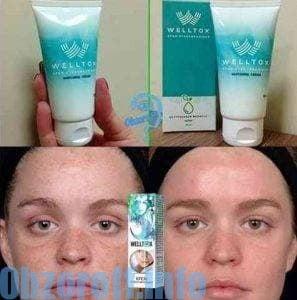 Welltox la crème pour blanchir la peau