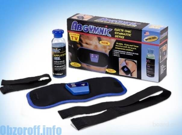 Miostimulyator Ab Gymnic para perder peso