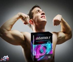 Adamour - cápsulas para hombres con erección débil