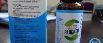 AlcoBlocker Tropfen für die Behandlung von Alkoholismus