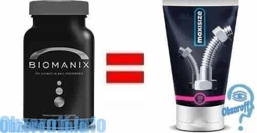 Comparison Biomanix with Maxisize for penis enlargement