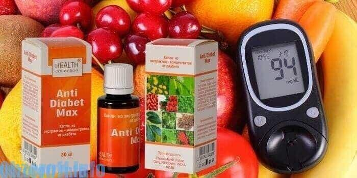 Описание препарата anti diabet max