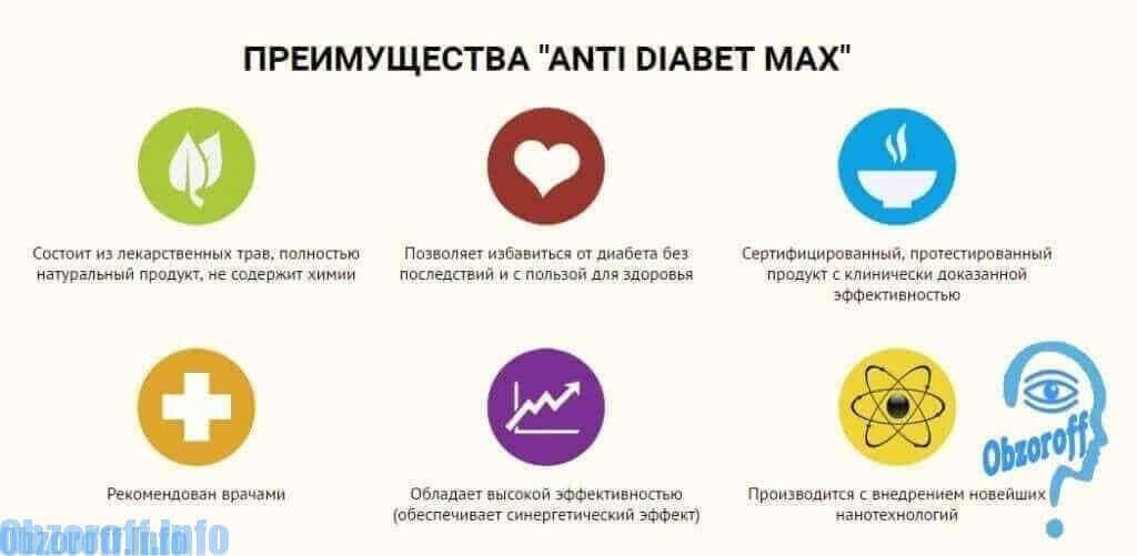 отличие от аналогов и достоинства AntiDiabet Max