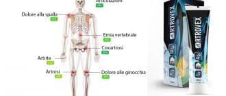 Crema Artrovex per il trattamento di malattie articolari e sollievo dal dolore