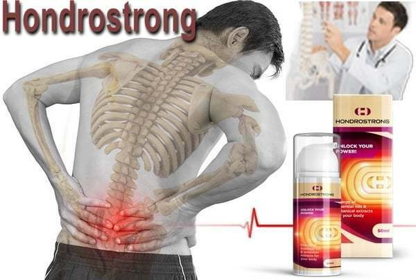 Cream Hondrostrong for joints - product overview
