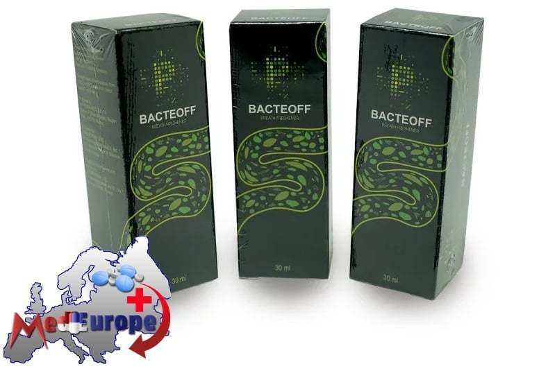BacteOFF - krople do oczyszczenia organizmu z pasożytów