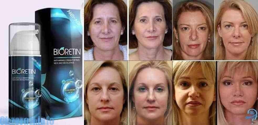 Krémová maska Bioretin pro efektivní omlazení obličeje