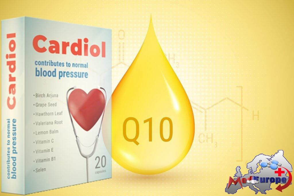 Cardiol for hjertet - Coenzyme Q10 Coenzyme