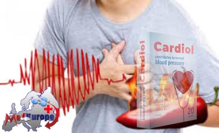 Ietekme no narkotikām Cardiol asinsspiediena pazemināšanai