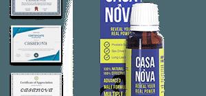 Casanova um den Testosteronspiegel zu erhöhen und die Erektion zu verbessern