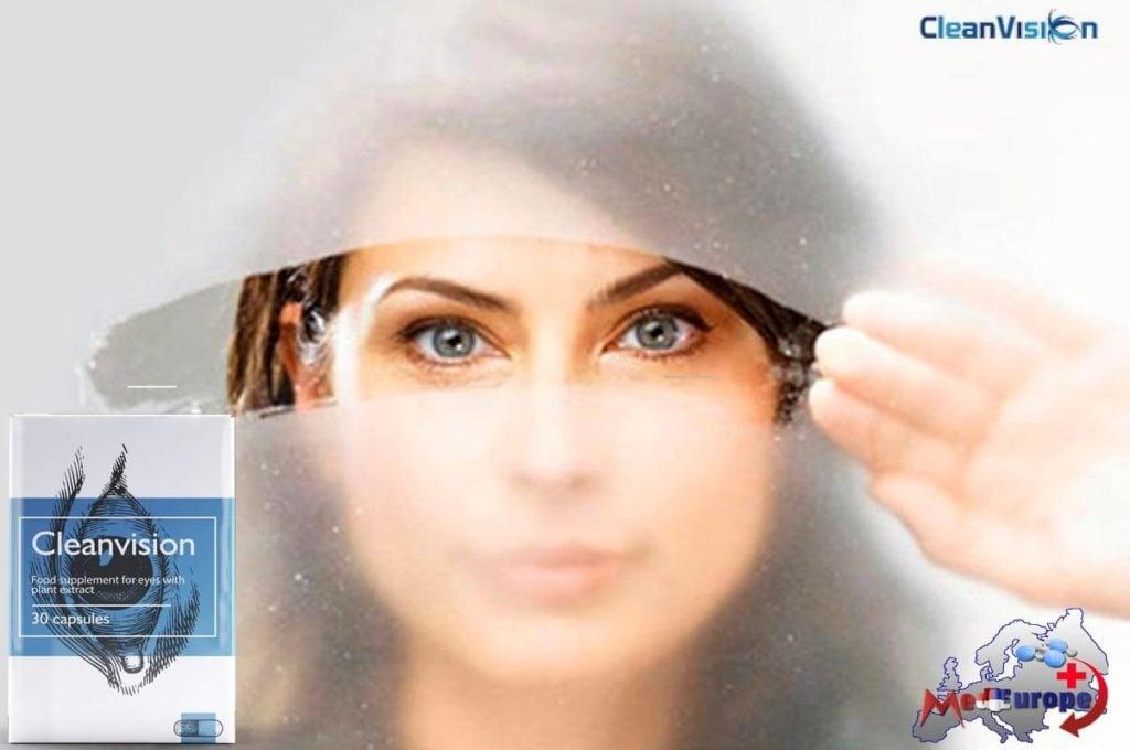 Legemidlet Cleanvision for å lindre øyetthet