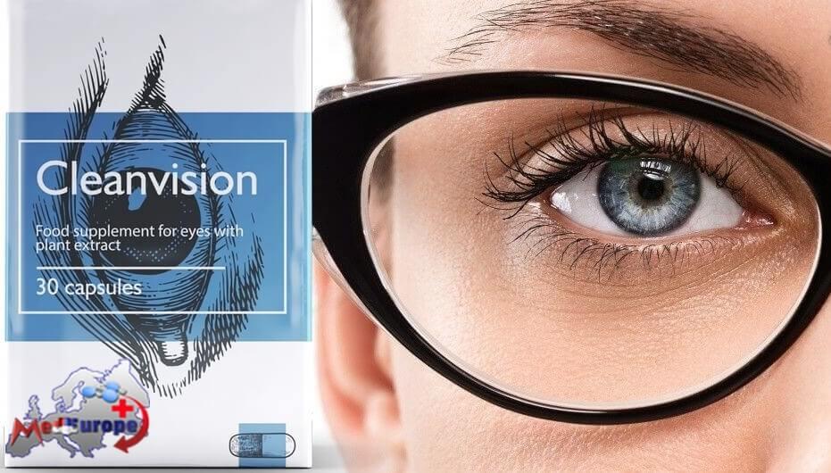 Cleanvision um das Sehvermögen wiederherzustellen und die Augen zu entlasten