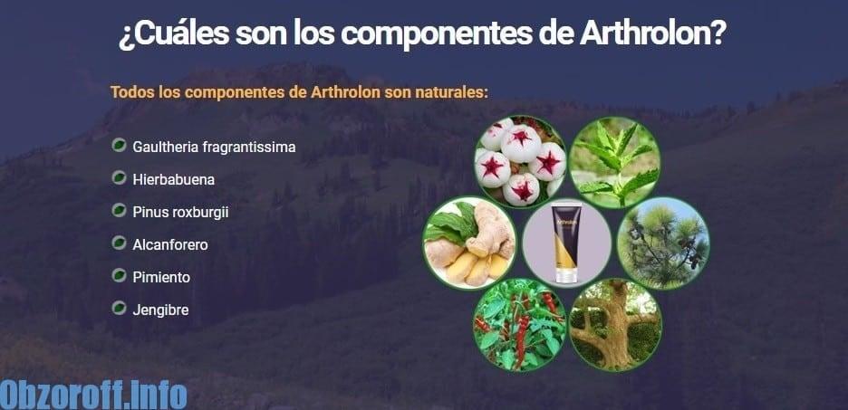 Arthrolon crema para el tratamiento y rehabilitación de articulaciones