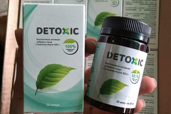 Detoxic for cleaning the body of worms, worms, parasites and toxins