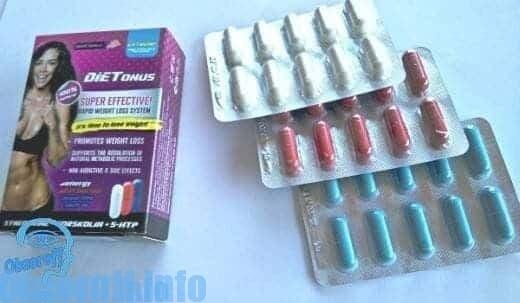 Trifásico remédio Dietonus para perda de peso