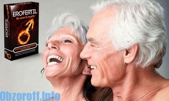 Erofertil, lai uzlabotu erekciju: kapsulas iedarbībai