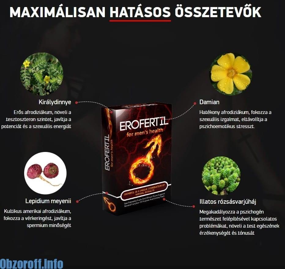 EROFERTIL OSSZETEVOK