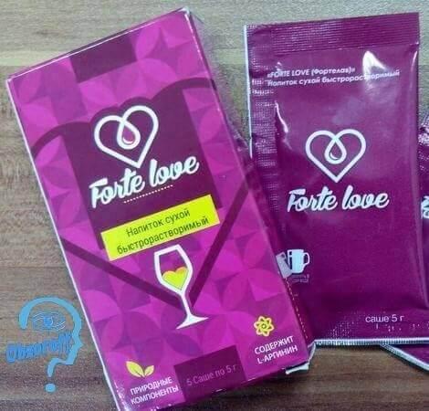 баштапкы козгогучу Forte Love