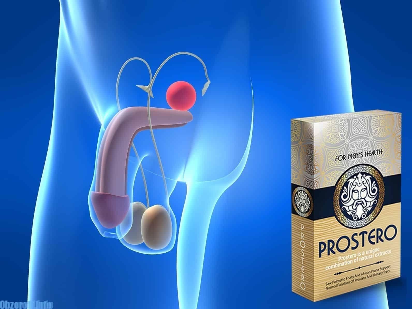 ProstEro capsule per il trattamento della prostatite