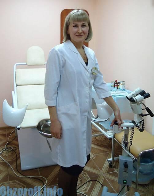 Ginekoloq Ermakova Angela İvanovna