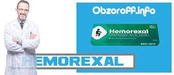 HEMOREXAL gēls hemoroīdu ārstēšanai un profilaksei