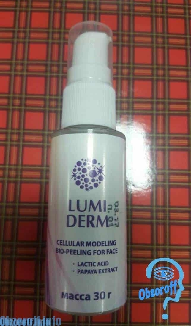 Lumiderm injectieflacon 30 ml