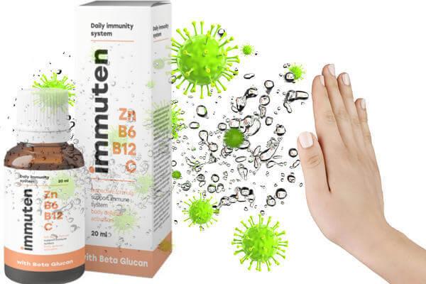 Immuten за възстановяване на имунитета