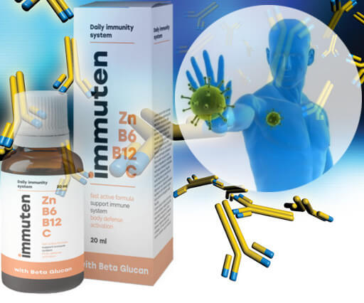 Properties of the preparation immuten for the immune system