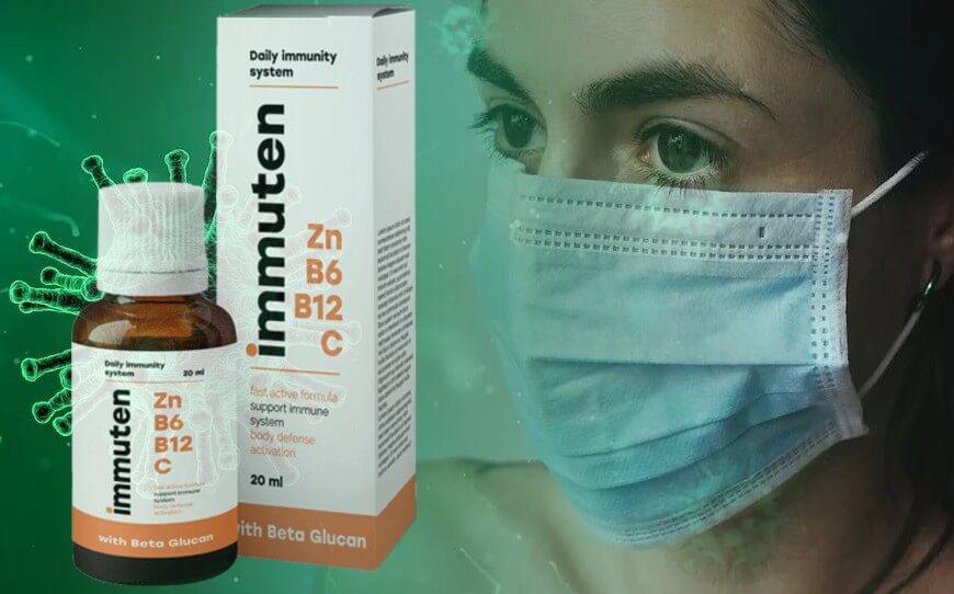 Immuten para proteção contra vírus