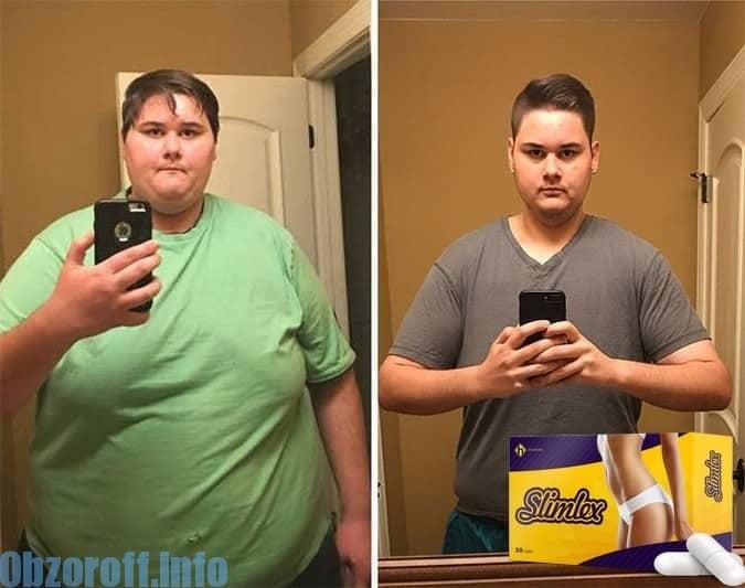 ยาหยด Slimlex สำหรับการลดน้ำหนัก