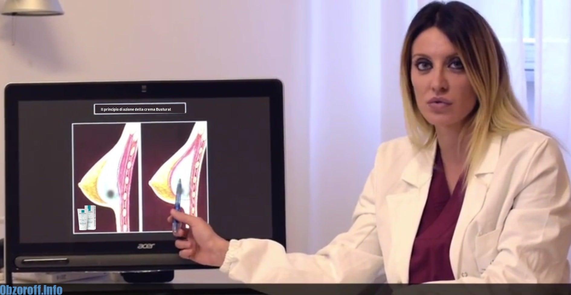 Recensioni dei medici su crema Bustural