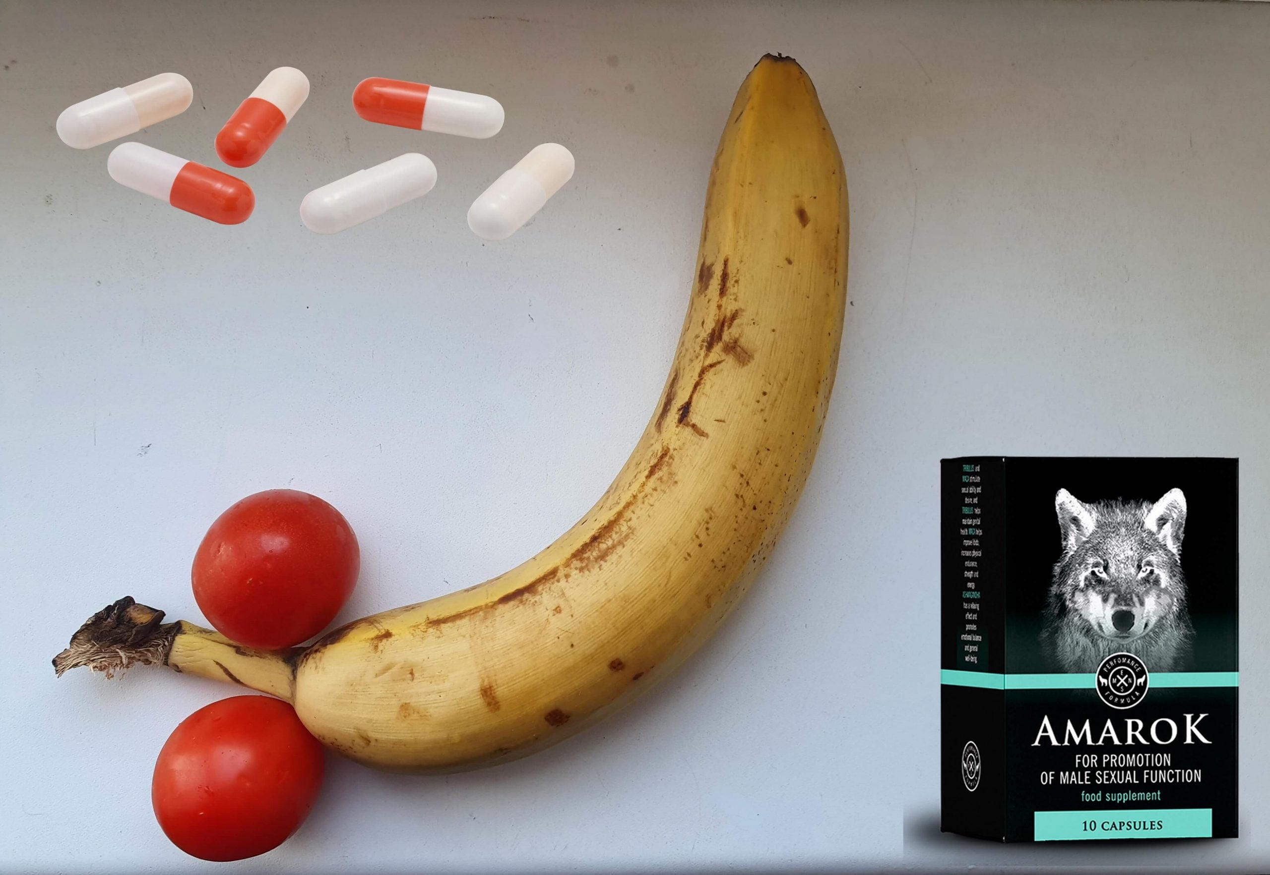 Strong erection with Amarok capsules for potency