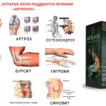 კრემი Artrovex ართრიტის და სახსრების დაავადებების სამკურნალოდ
