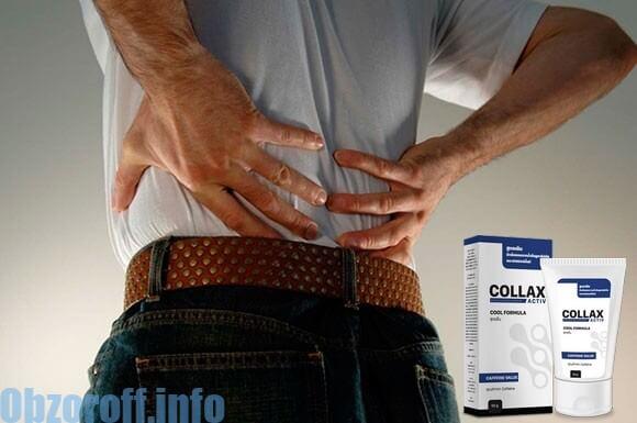 ครีม Collax Activ สำหรับการรักษาข้อต่อ: กำจัดโรคข้ออักเสบ, โรคข้ออักเสบ, ปวดหลัง
