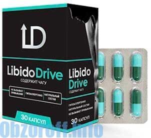 Капсулы Libido Drive для повышения потенции