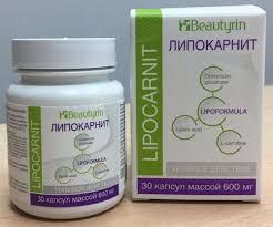 Lipocarnit ცხიმების წვის კაფსულები წონის დაკლებისთვის