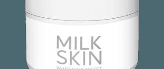 Milk Skin Krim dengan kesan pemutihan dari pigmentasi dan bintik-bintik