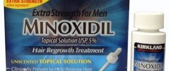 minoxidil vīrietis - 3
